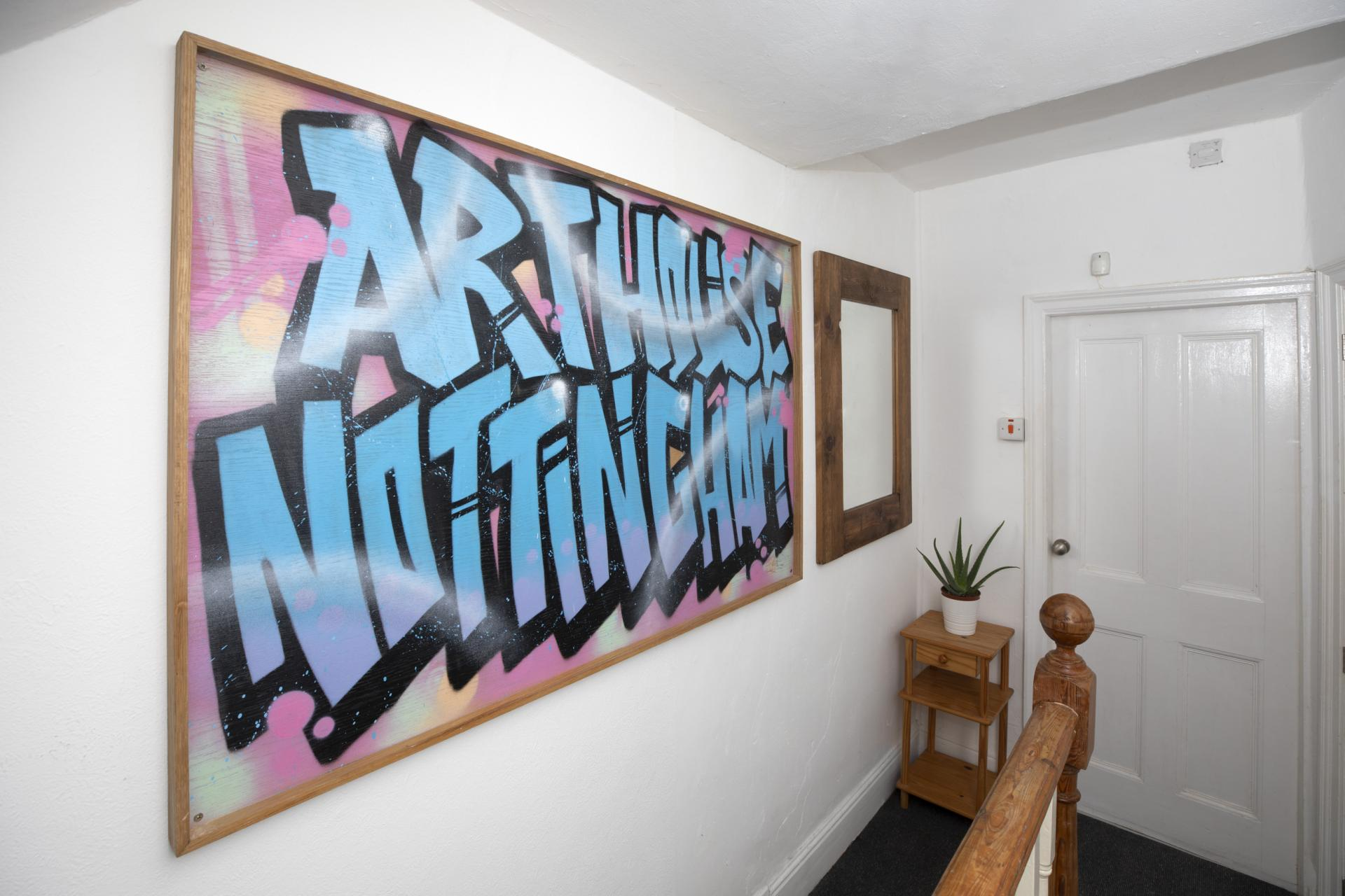 Art at Nottingham Arthouse, Sneinton, Nottingham - Citybase Apartments