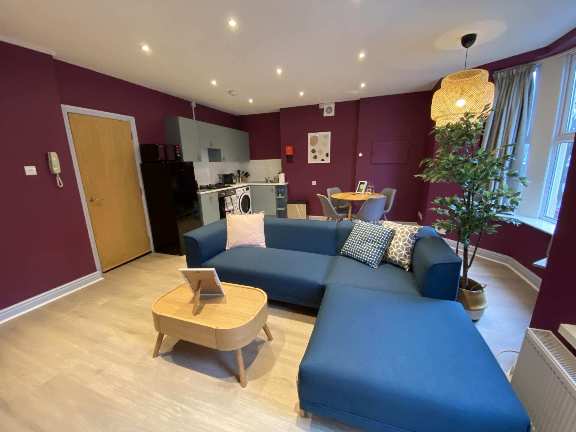 Door at 17 Fitzhamon Apartments, Riverside, Cardiff - Citybase Apartments