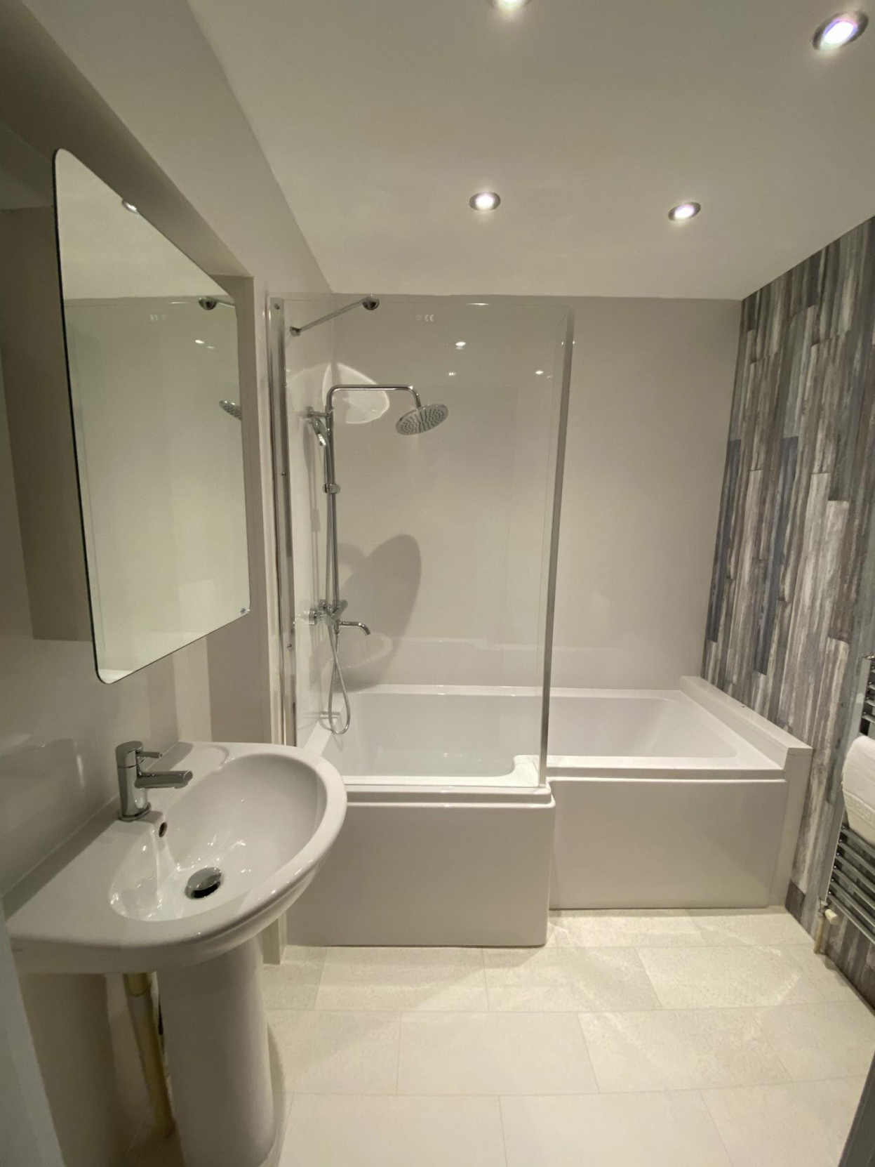 Shower at 17 Fitzhamon Apartments, Riverside, Cardiff - Citybase Apartments