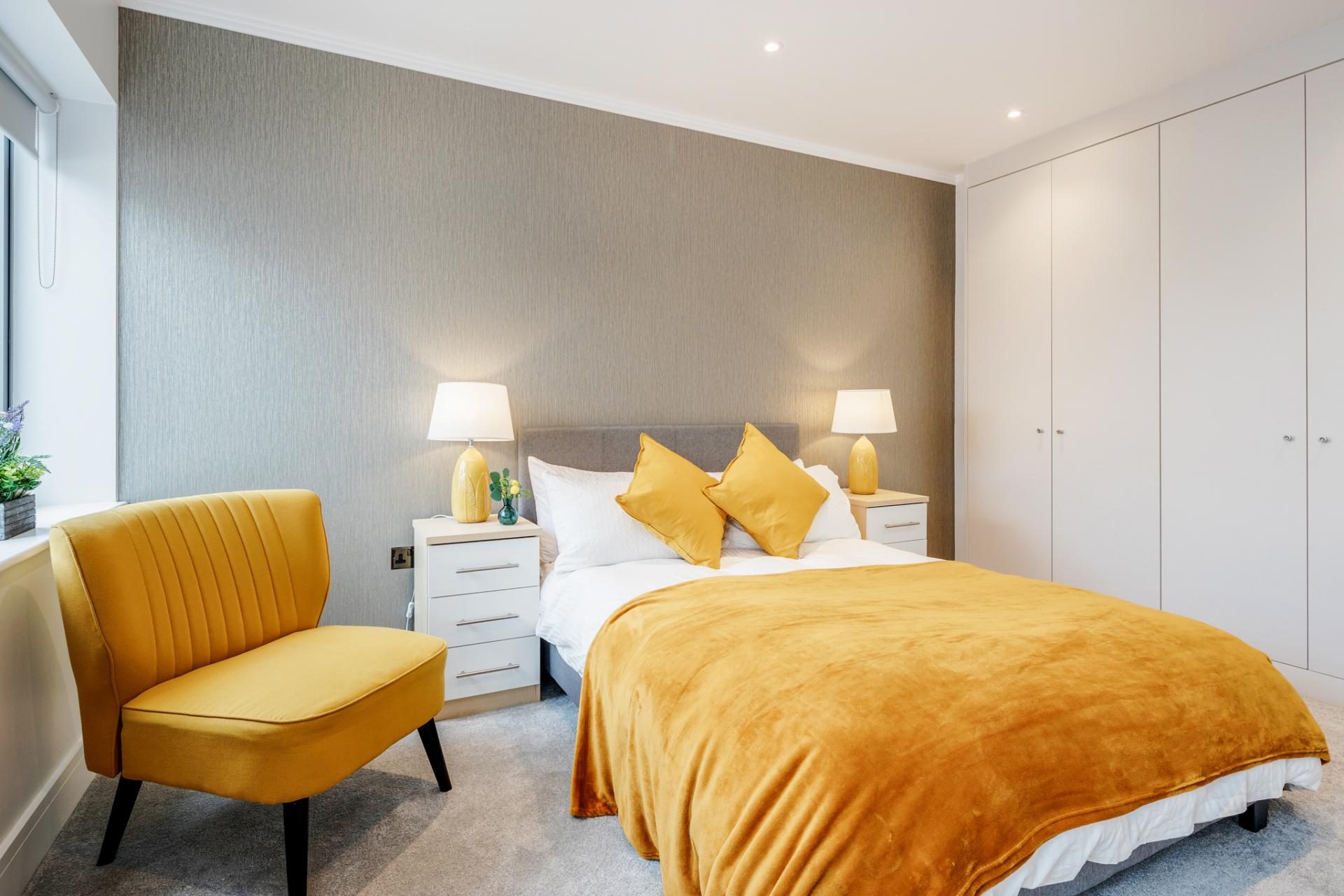 Bedroom at Dudley House Apartments, Brentford, London - Citybase Apartments
