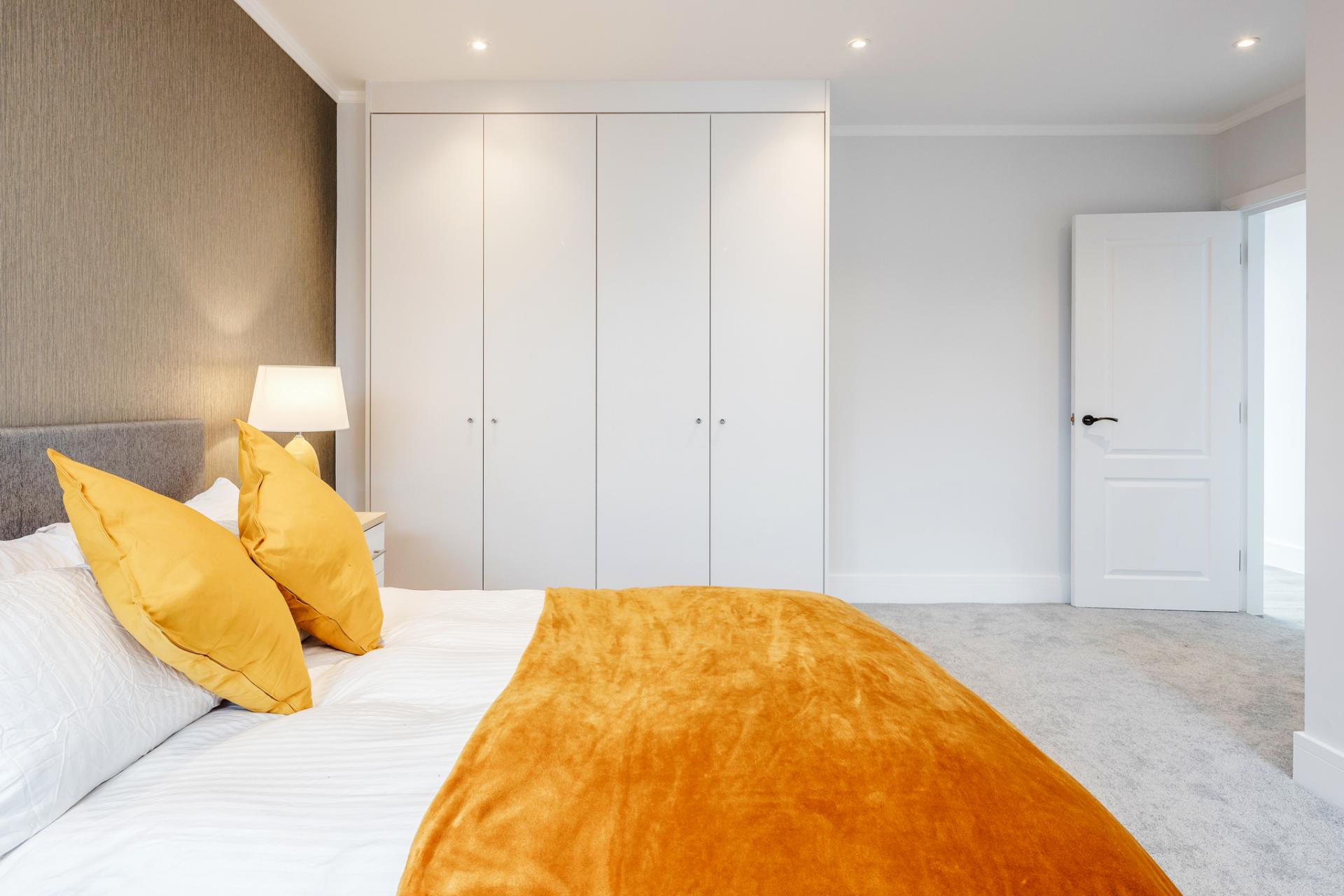 Bed at Dudley House Apartments, Brentford, London - Citybase Apartments