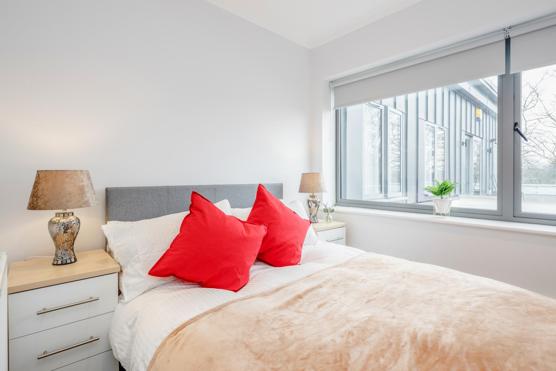 Bedding at Dudley House Apartments, Brentford, London - Citybase Apartments