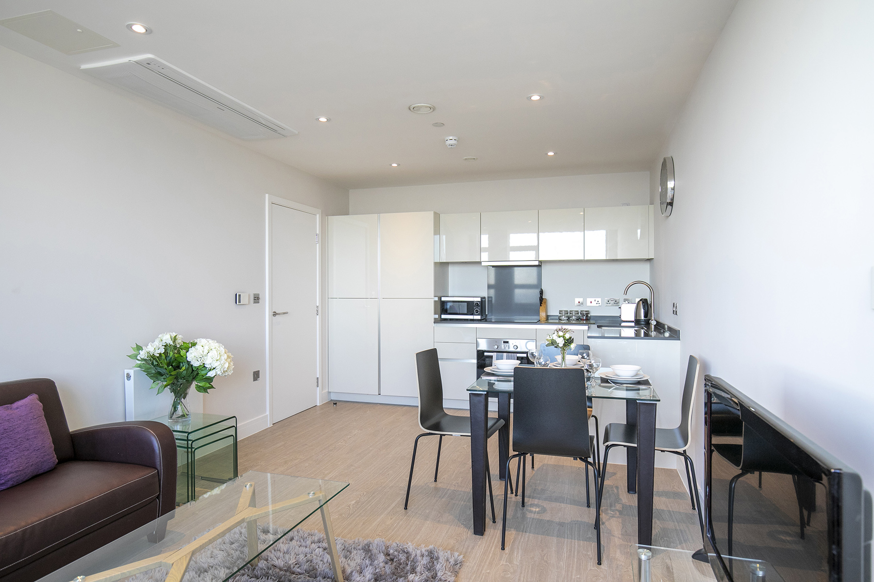 Open-plan at The View Apartments, Centre, Sunbury - Citybase Apartments