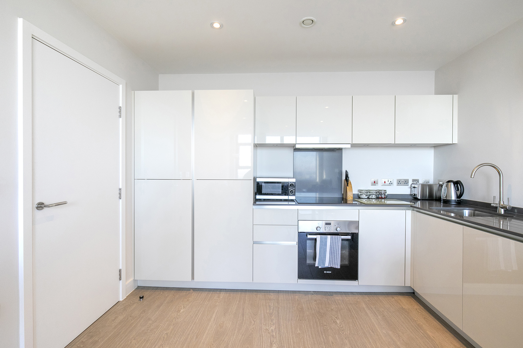 Kitchen at The View Apartments, Centre, Sunbury - Citybase Apartments