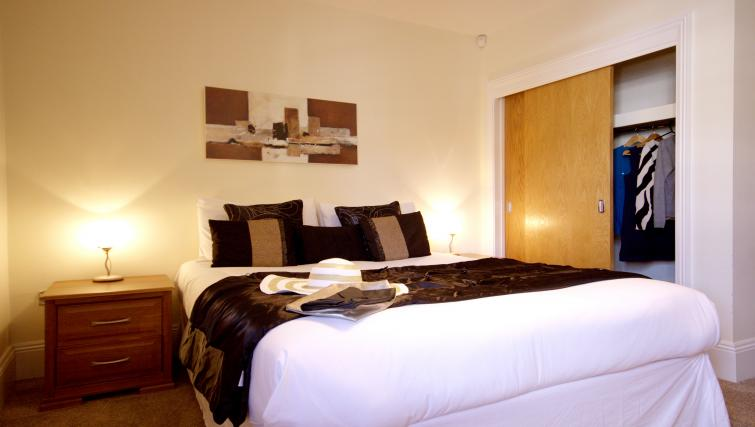 Bedroom at Eldon Lodge Apartments - Citybase Apartments