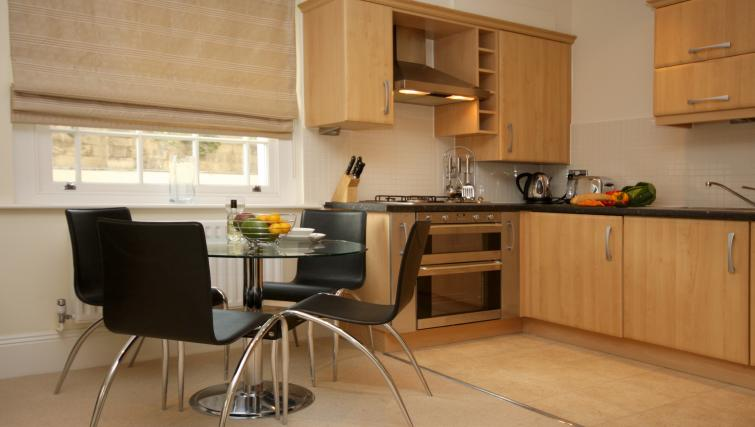 Kitchen at Eldon Lodge Apartments - Citybase Apartments