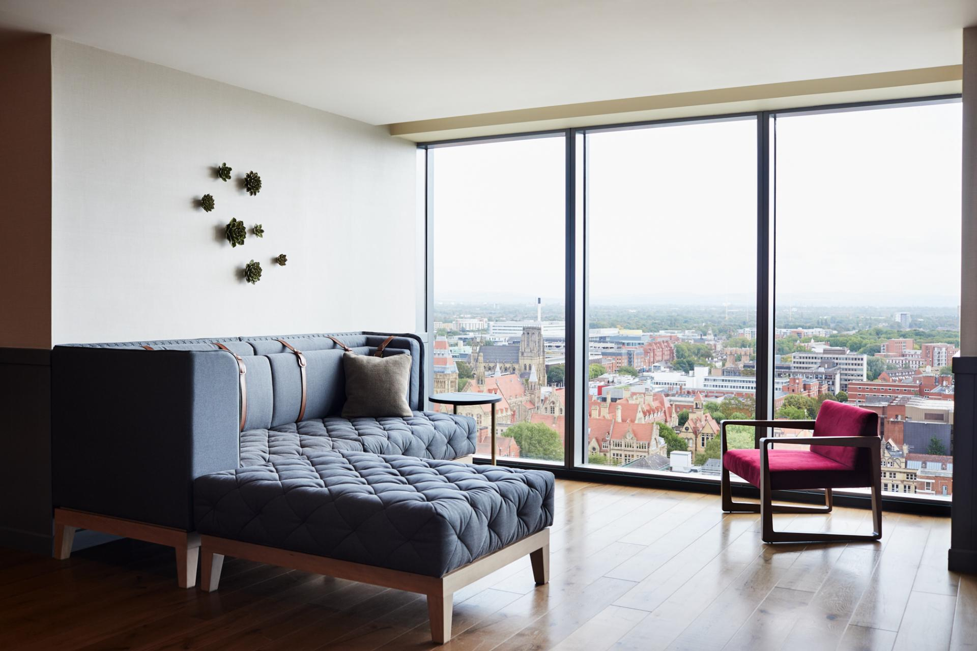 View from at Hyatt House Manchester, Hulme, Manchester - Citybase Apartments
