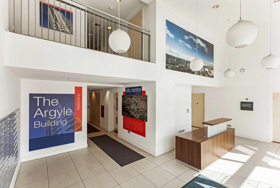 Lobby at Glasgow Skyline Apartments, Centre, Glasgow - Citybase Apartments