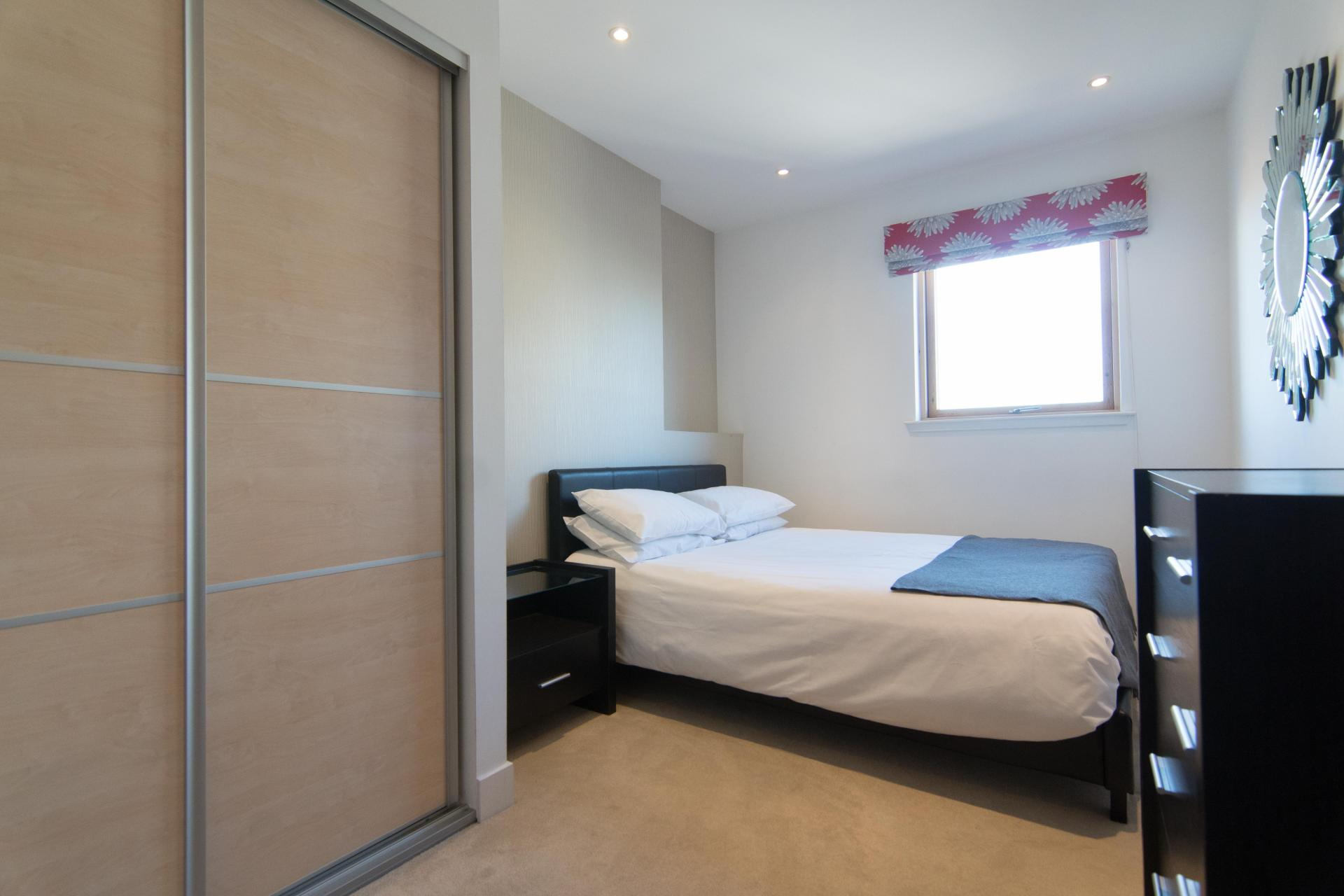 Bed at Glasgow Skyline Apartments, Centre, Glasgow - Citybase Apartments