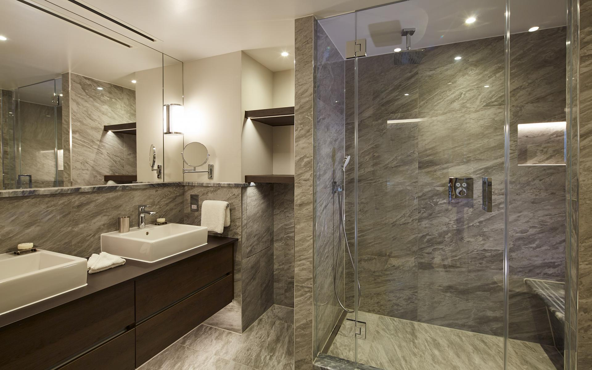 Bathroom at Cheval Gloucester Park, South Kensington, London - Citybase Apartments