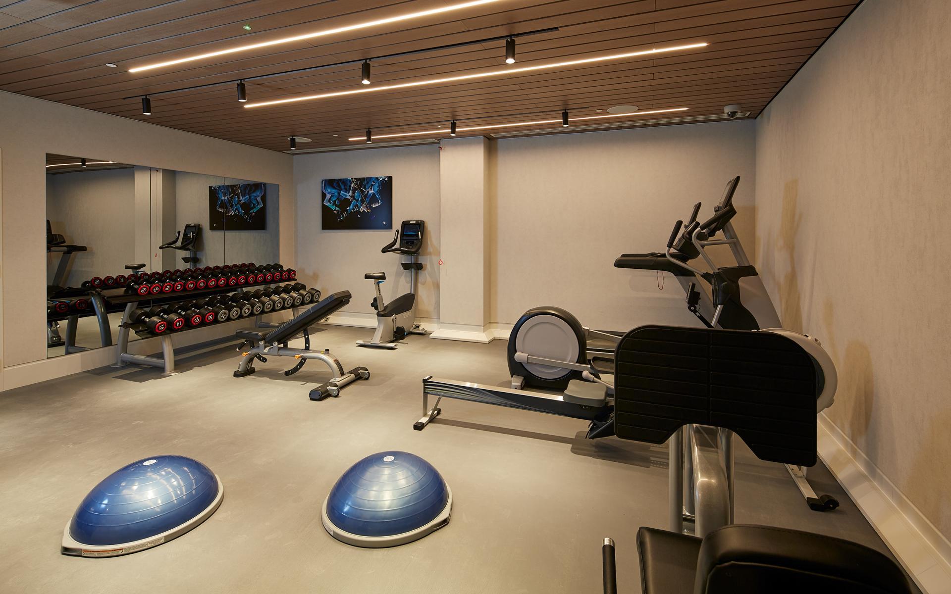 Gym at Cheval Gloucester Park, South Kensington, London - Citybase Apartments