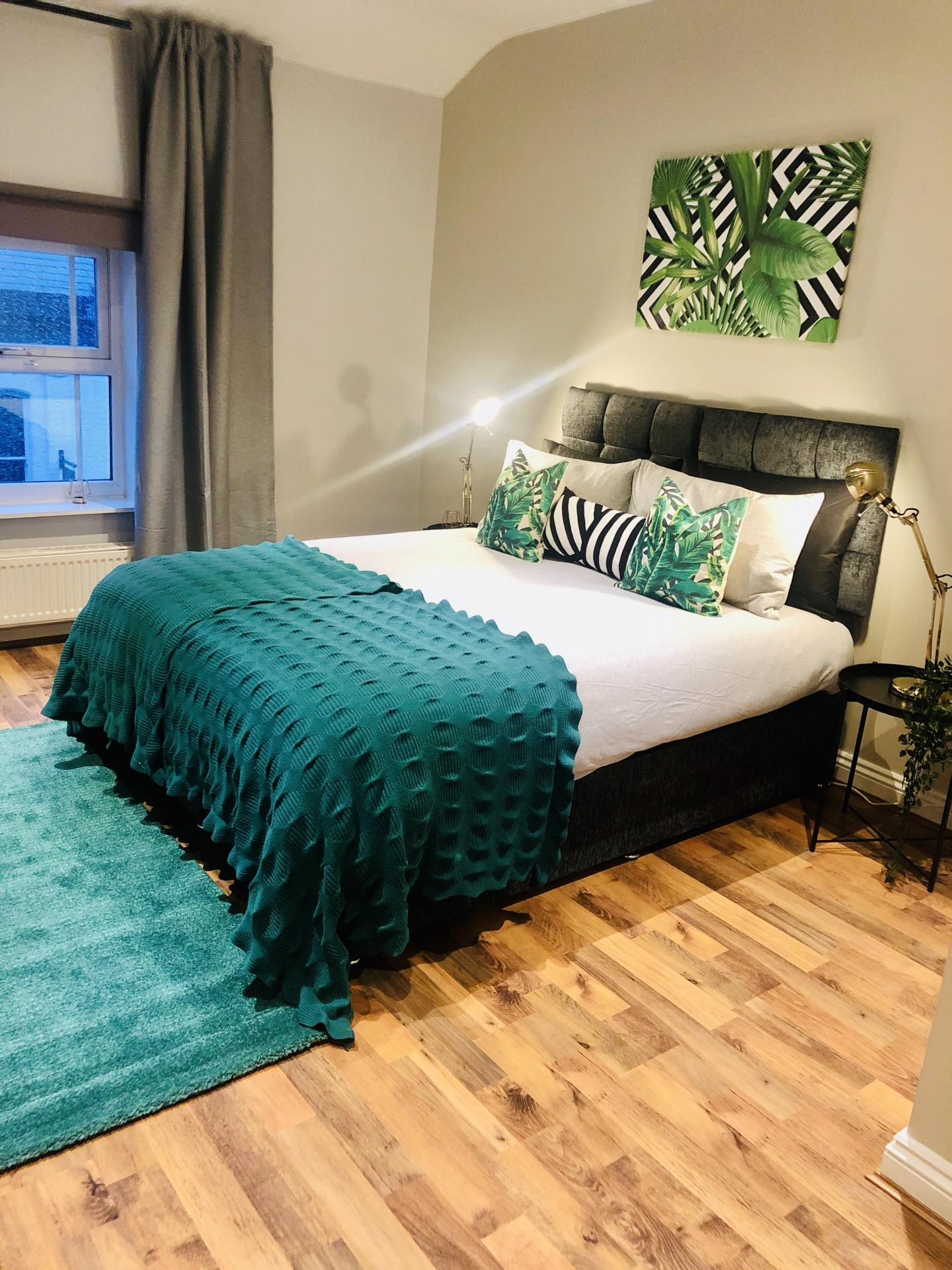 Bed at Glossop Road Apartment, Broomhall, Sheffield - Citybase Apartments