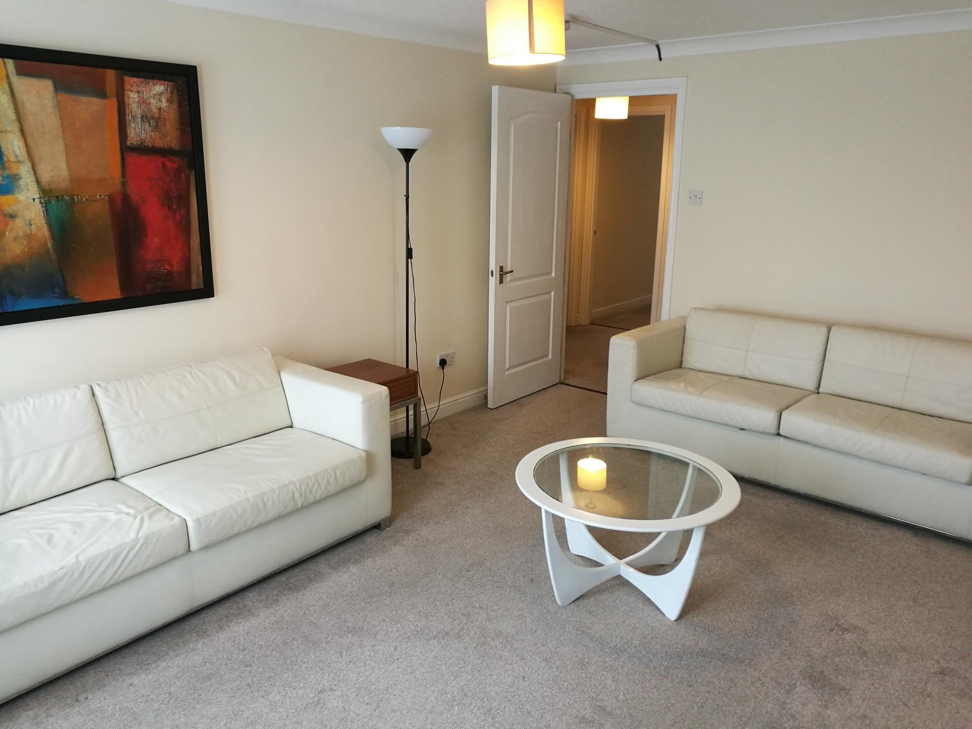 Living room at Glasgow Finnieston Apartment, Finnieston, Glasgow - Citybase Apartments
