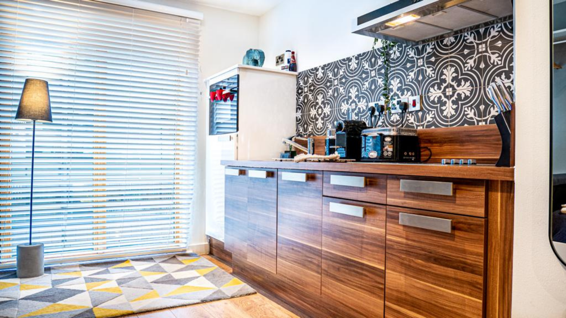Kitchen at Quarter Blonk Street Apartments, Centre, Sheffield - Citybase Apartments