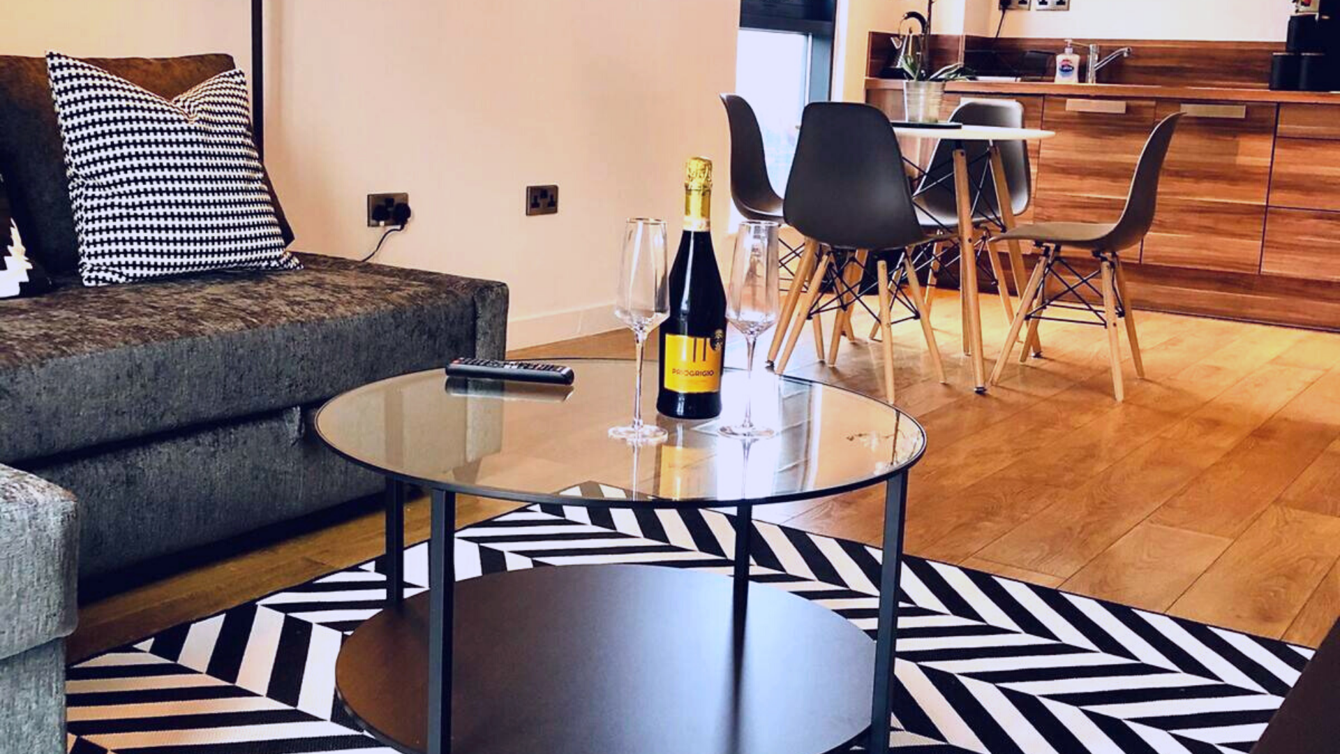 Table at Quarter Blonk Street Apartments, Centre, Sheffield - Citybase Apartments