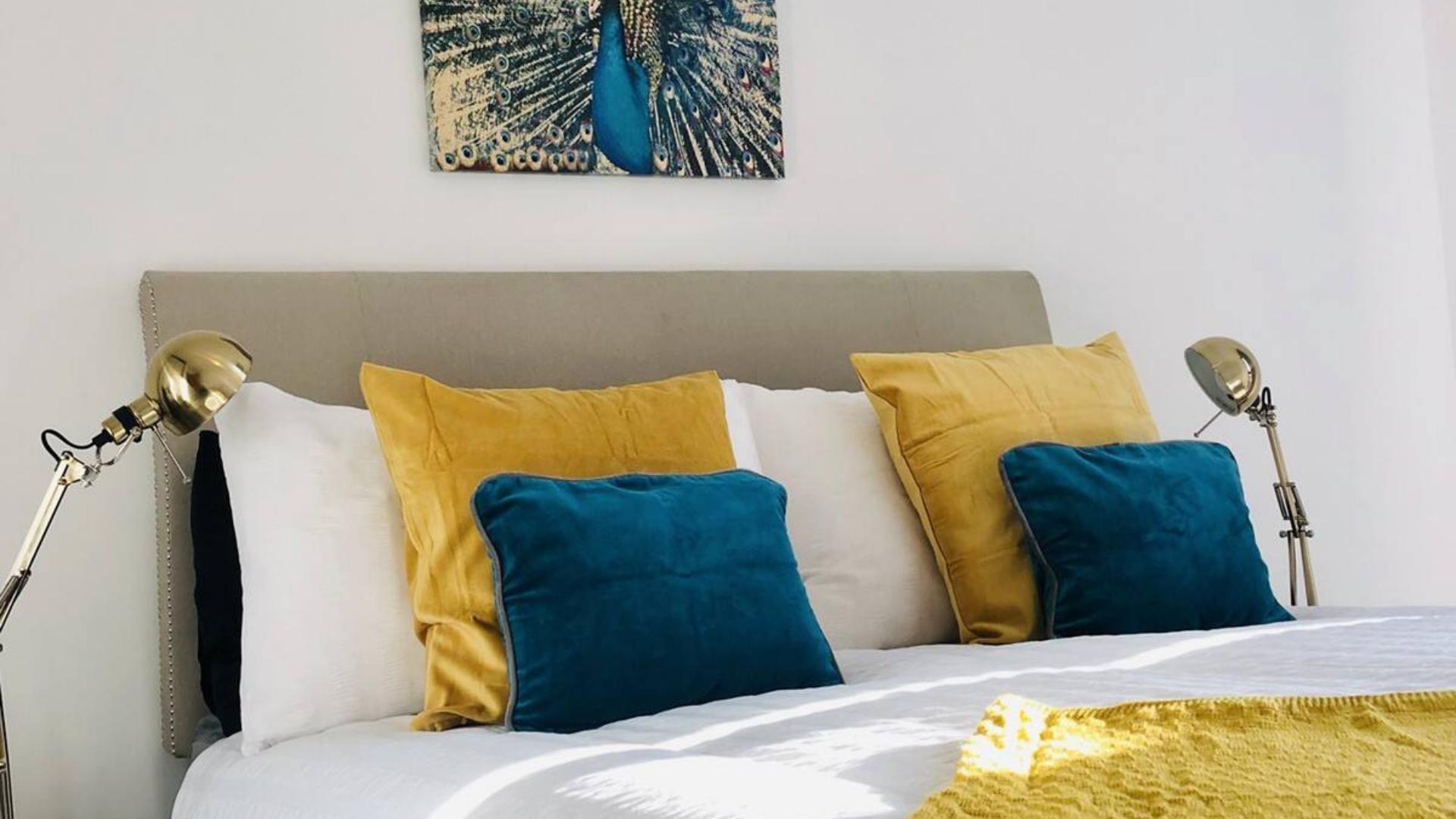 Bedding at Quarter Blonk Street Apartments, Centre, Sheffield - Citybase Apartments