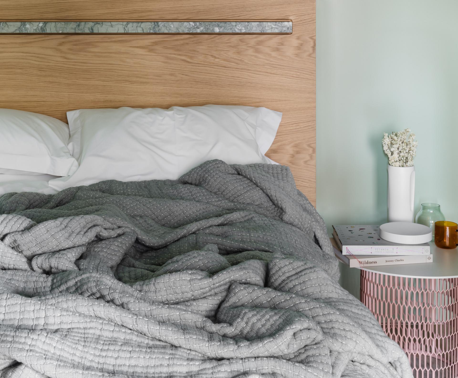 Bed at Locke at Broken Wharf Apartments, City, London - Citybase Apartments