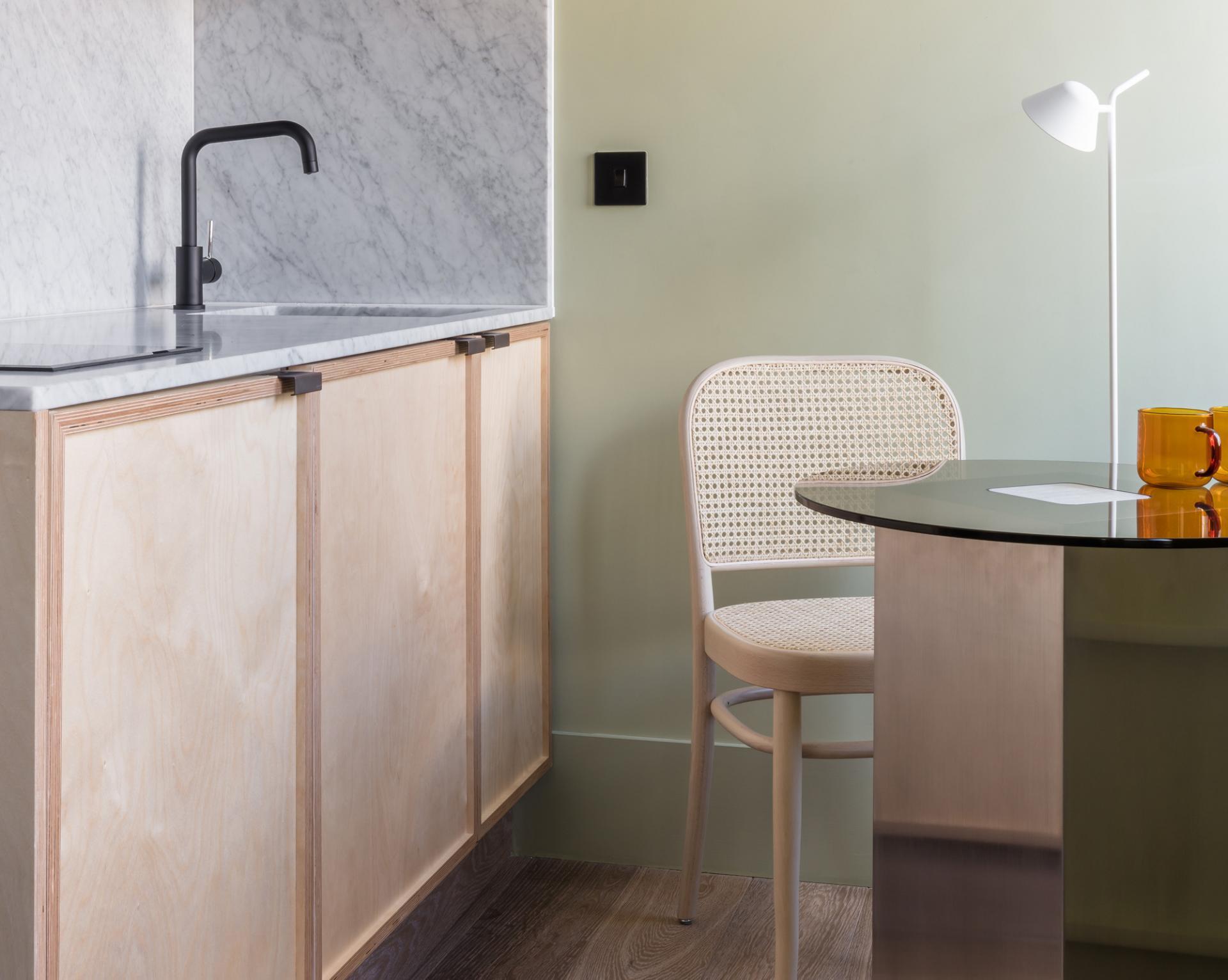 Kitchen at Locke at Broken Wharf Apartments, City, London - Citybase Apartments
