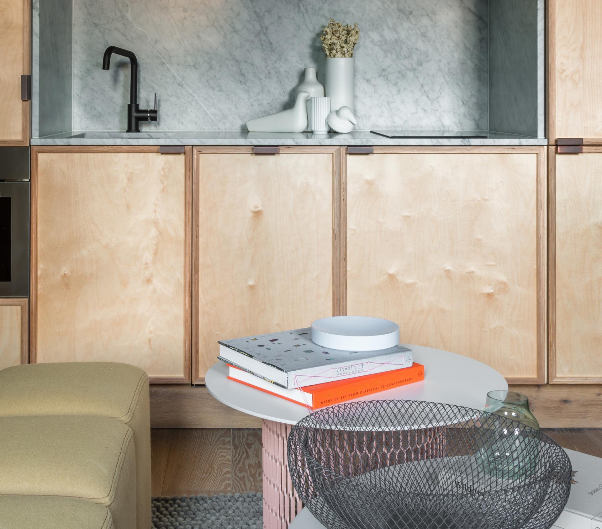 Coffee table at Locke at Broken Wharf Apartments, City, London - Citybase Apartments