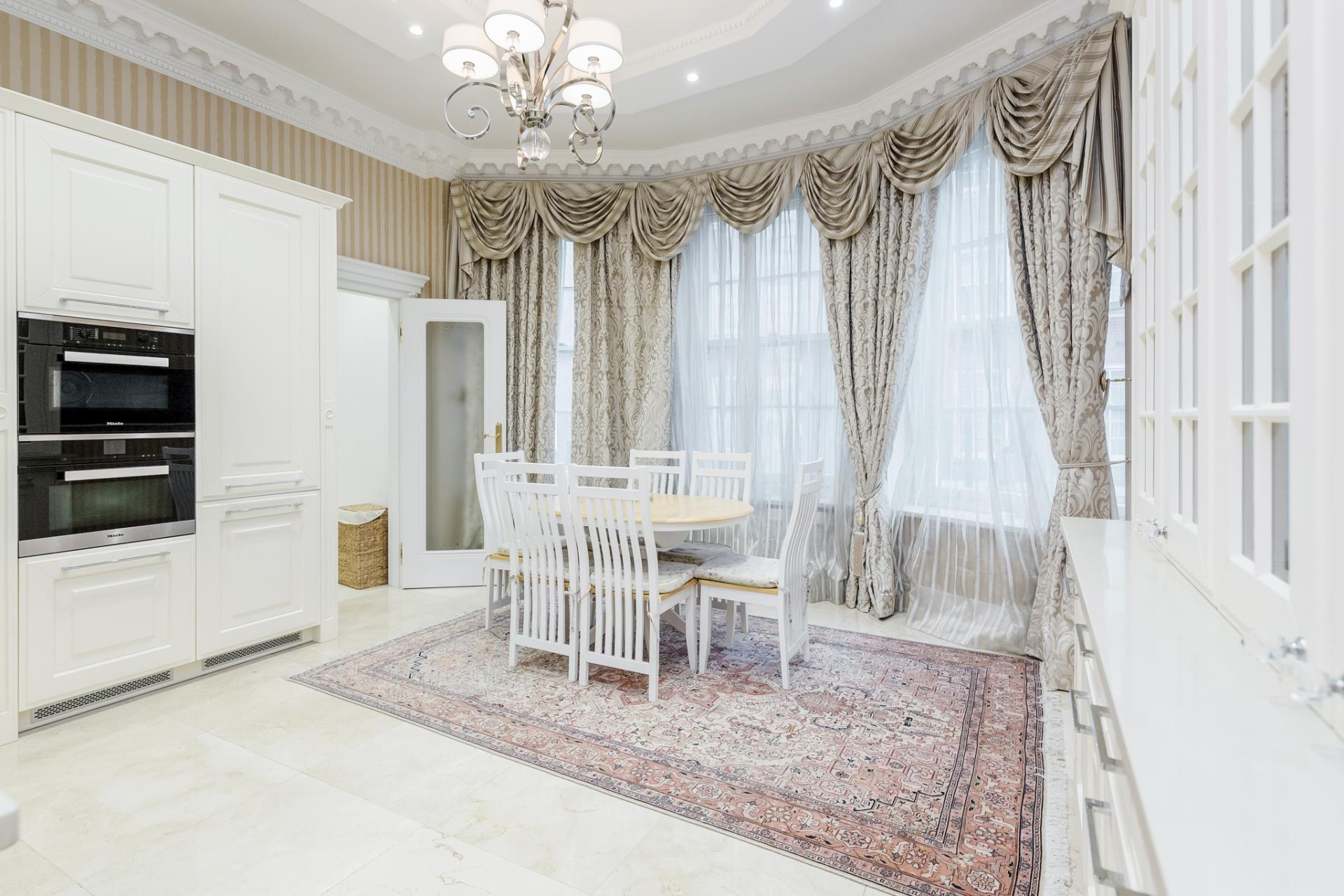Table at Grosvenor Square Apartment, Mayfair, London - Citybase Apartments