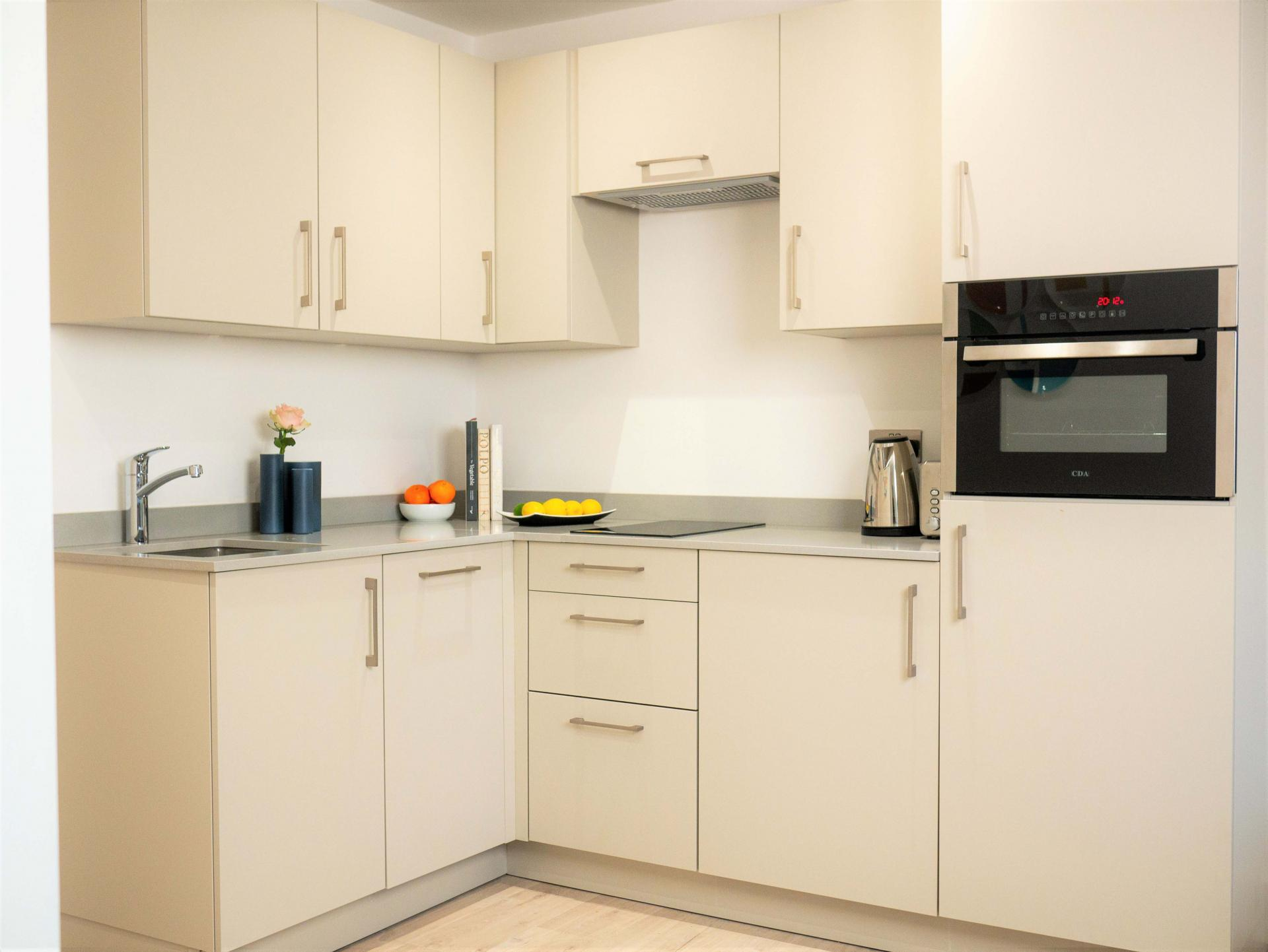 Kitchen at Q Square Aparthotel, Centre, Brighton - Citybase Apartments