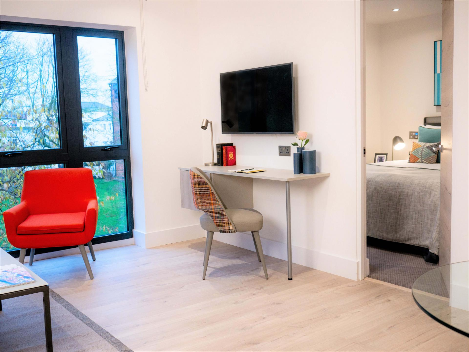 One Bedroom Suite at Q Square Aparthotel, Centre, Brighton - Citybase Apartments