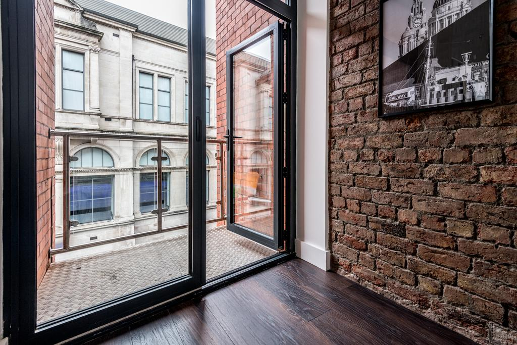 Balcony at Stanley Street Serviced Apartments, Centre, Liverpool - Citybase Apartments
