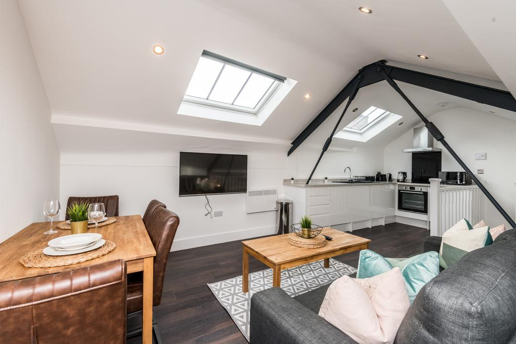 Attic at Stanley Street Serviced Apartments, Centre, Liverpool - Citybase Apartments