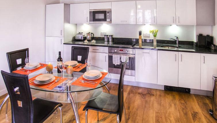 Stylish kitchen in Park West Apartments - Citybase Apartments