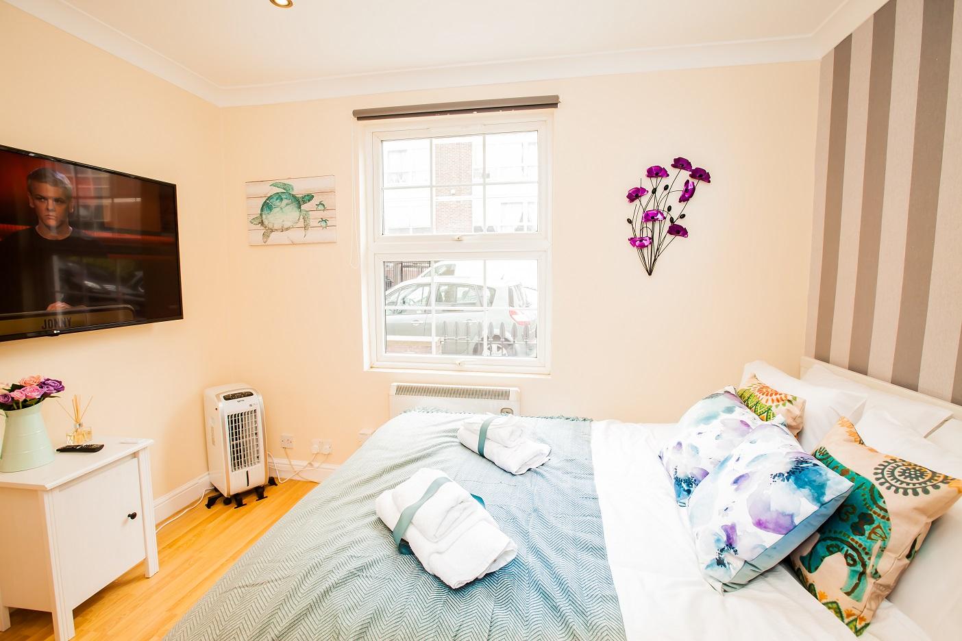 Bedroom at Marylebone Serviced Apartments, Marylebone, London - Citybase Apartments