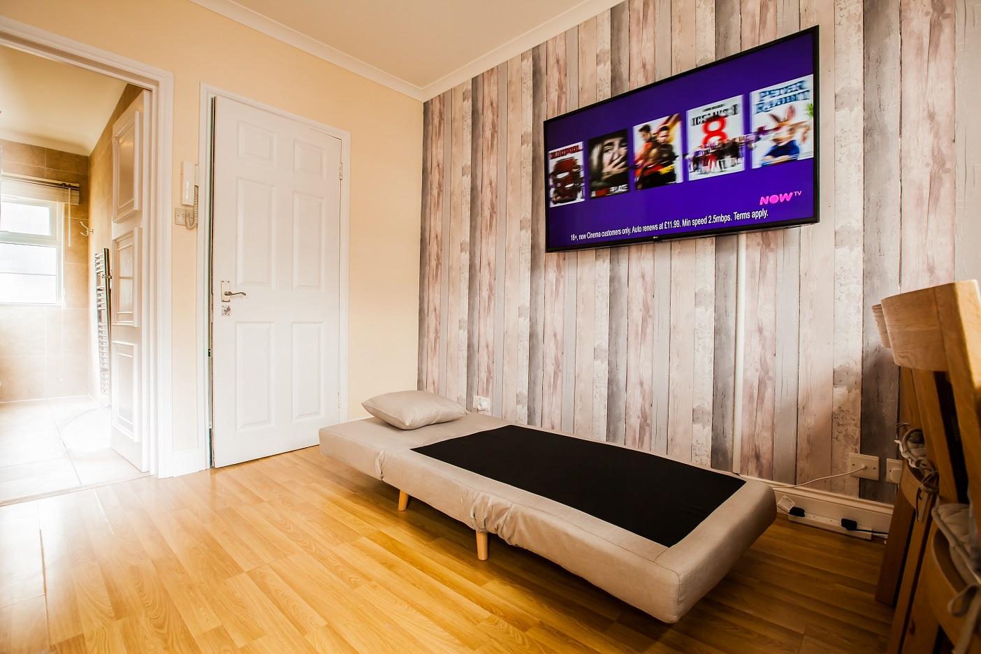 Sofa Bed at Marylebone Serviced Apartments, Marylebone, London - Citybase Apartments