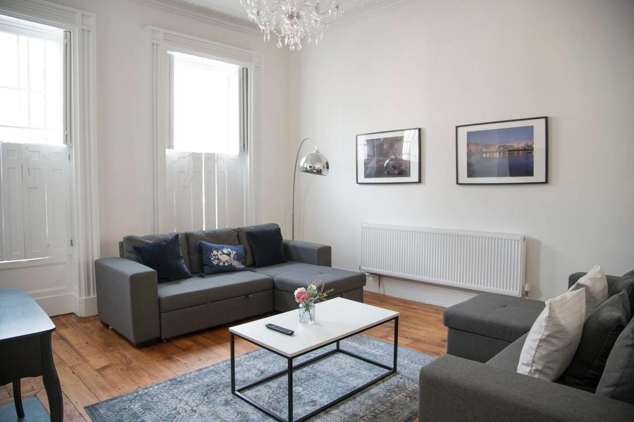 Sofa bed at Falkner Street Apartments, Ropewalks, Liverpool - Citybase Apartments