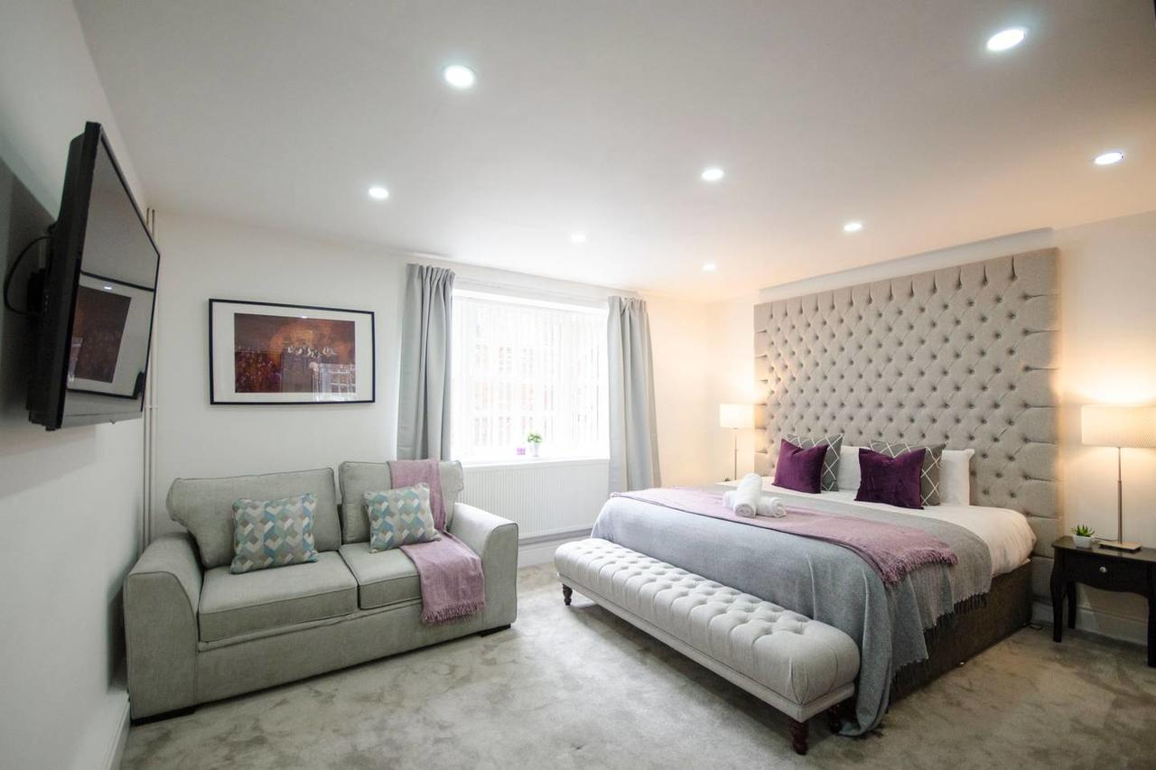 Bed at Falkner Street Apartments, Ropewalks, Liverpool - Citybase Apartments