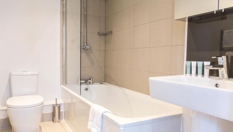 Bathroom at Native Fenchurch Street Apartments - Citybase Apartments