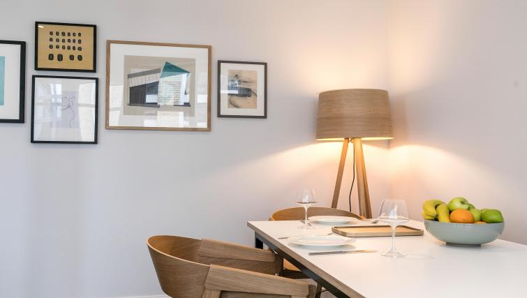 Dining area at Native Fenchurch Street Apartments - Citybase Apartments