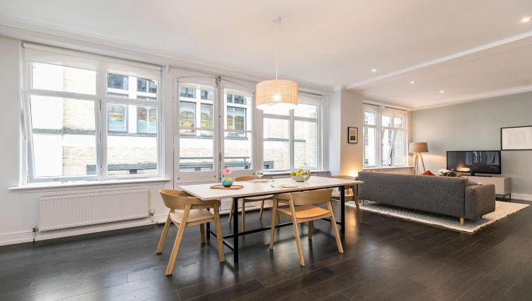 Dining table at Native Fenchurch Street Apartments - Citybase Apartments
