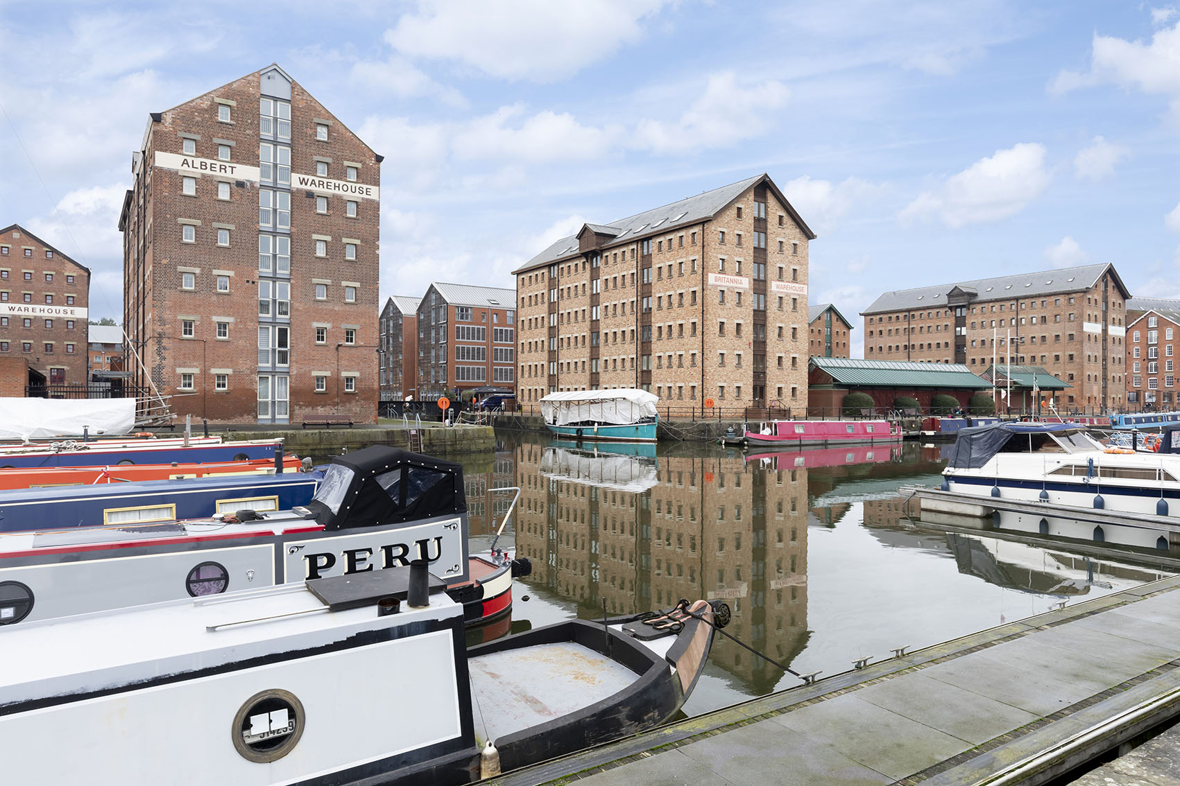 View from Apartment 12 Mariners Court, The Docks, Gloucester - Citybase Apartments