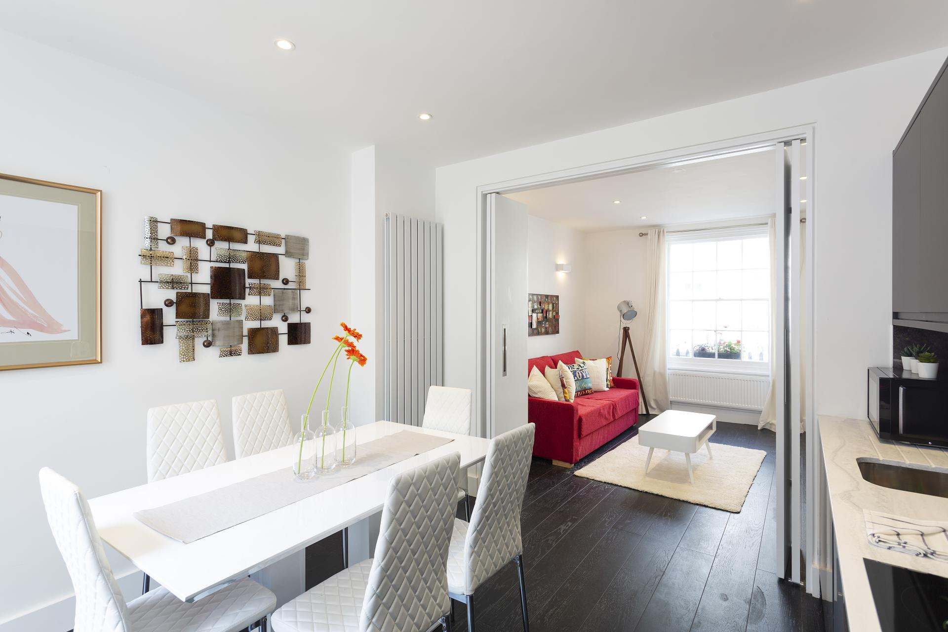 Layout at Luxury Knightsbridge House, Knightsbridge, London - Citybase Apartments