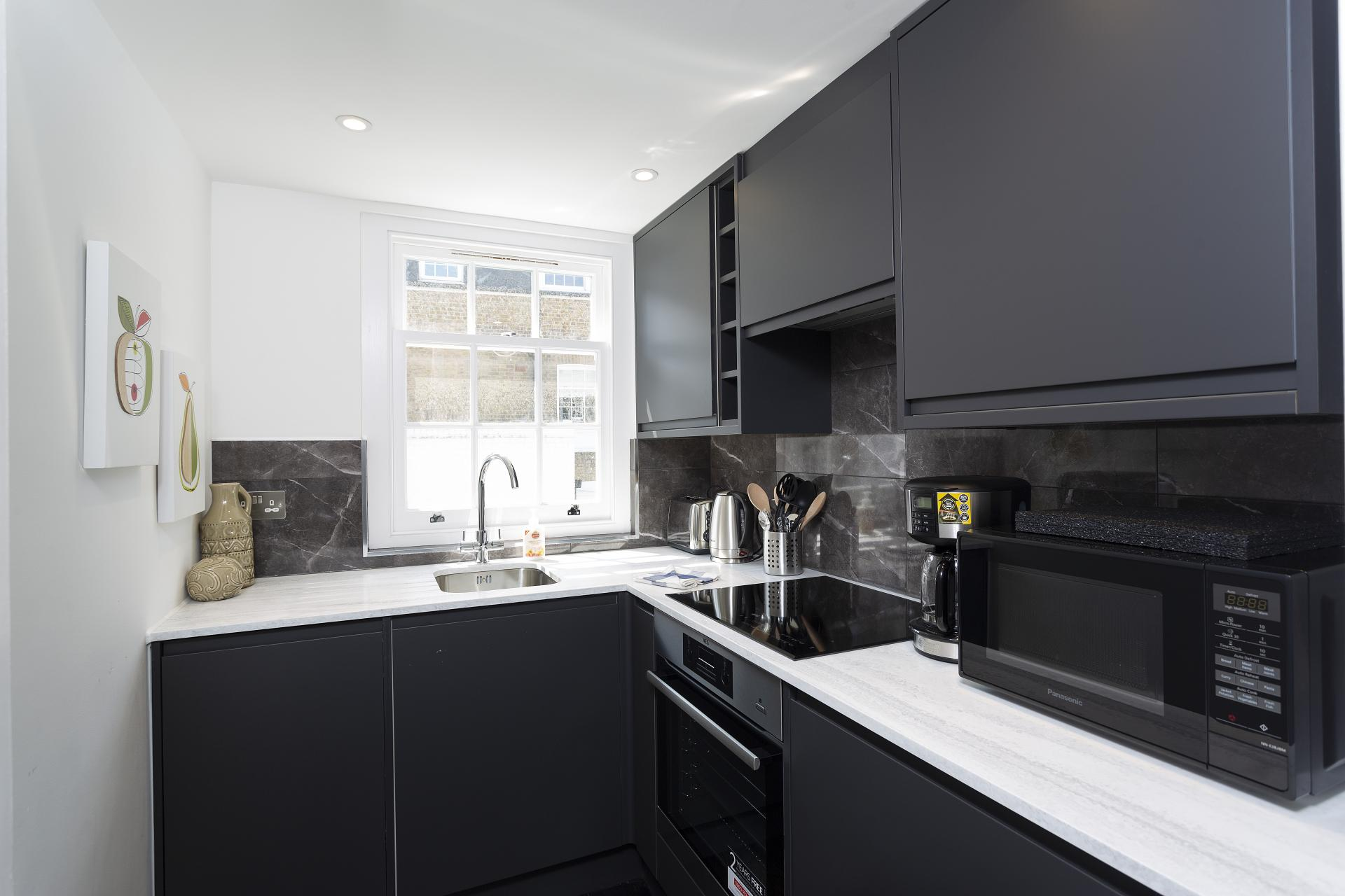 Kitchen 2 at Luxury Knightsbridge House, Knightsbridge, London - Citybase Apartments