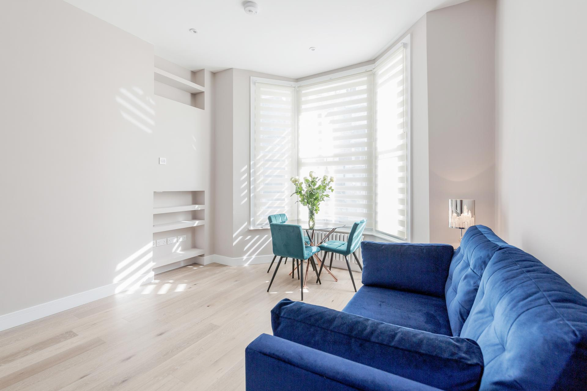 Sofa at Notting Hill Style, Ladbroke Grove, London - Citybase Apartments