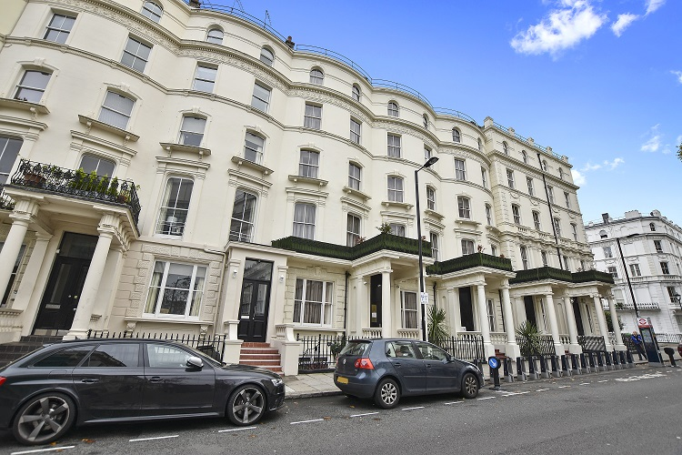 Exterior of Leinster Square by Bridgestreet, Bayswater, London - Citybase Apartments