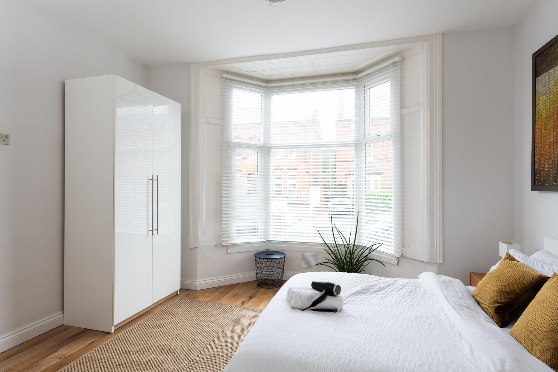 Wardrobe at Edgbaston Apartments, Rotton Park, Birmingham - Citybase Apartments