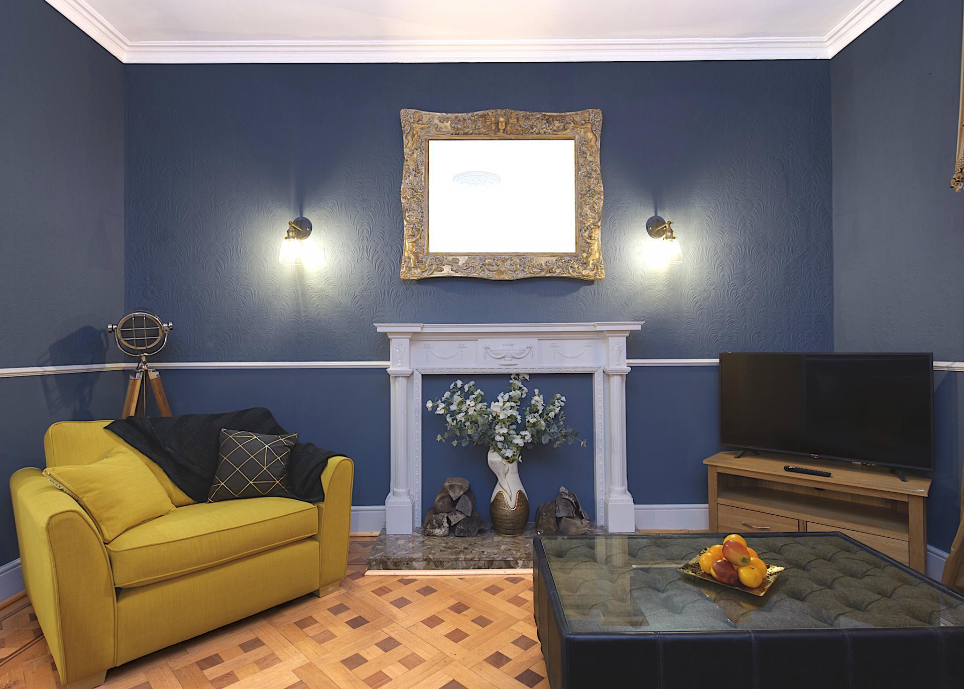 Sofas at Nottingham Park View Apartment, Centre, Nottingham - Citybase Apartments