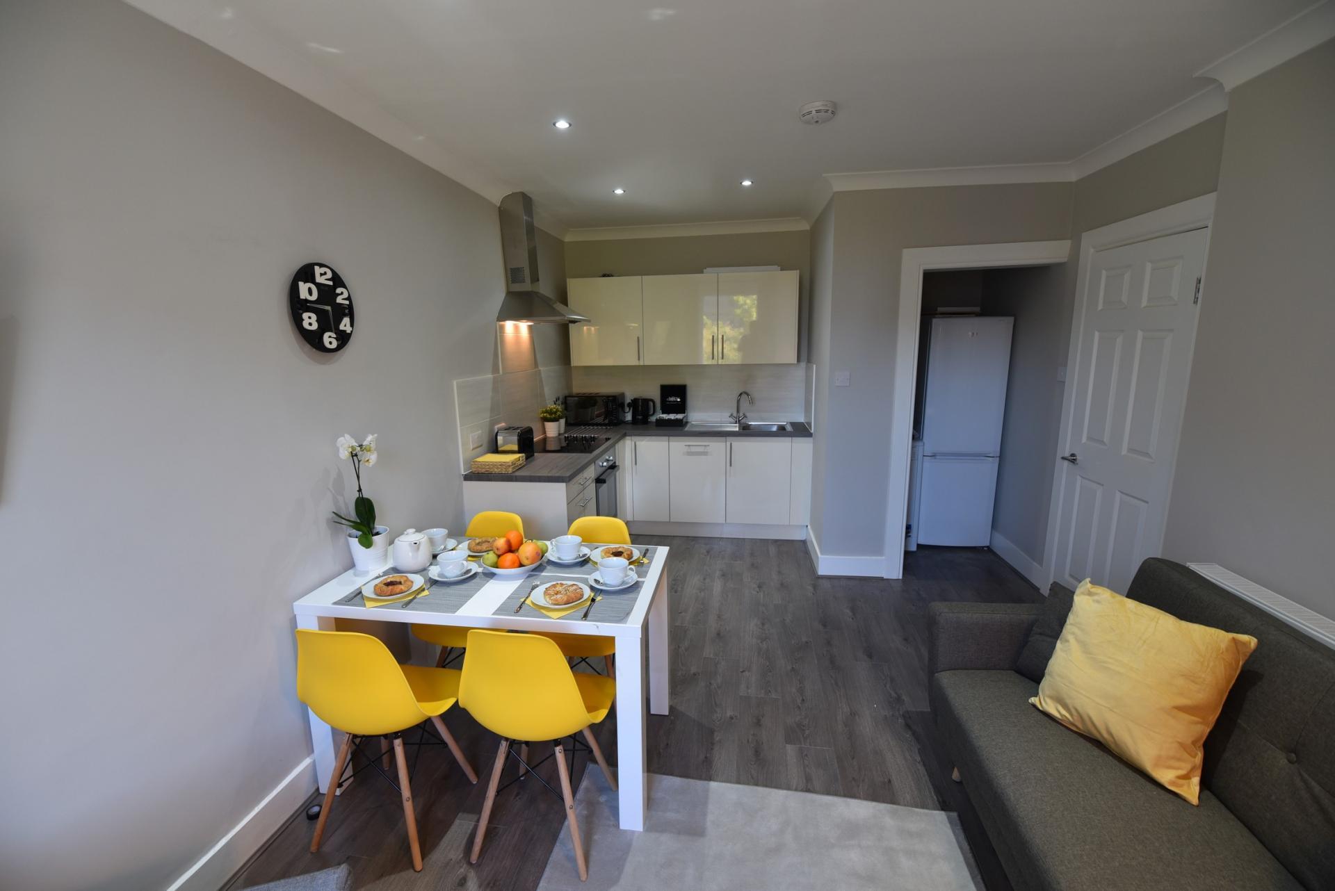 Layout at Meadowbank House Apartment, Jock's Lodge, Edinburgh - Citybase Apartments