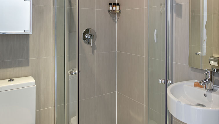 Shower at Nevern Place Aparthotel - Citybase Apartments