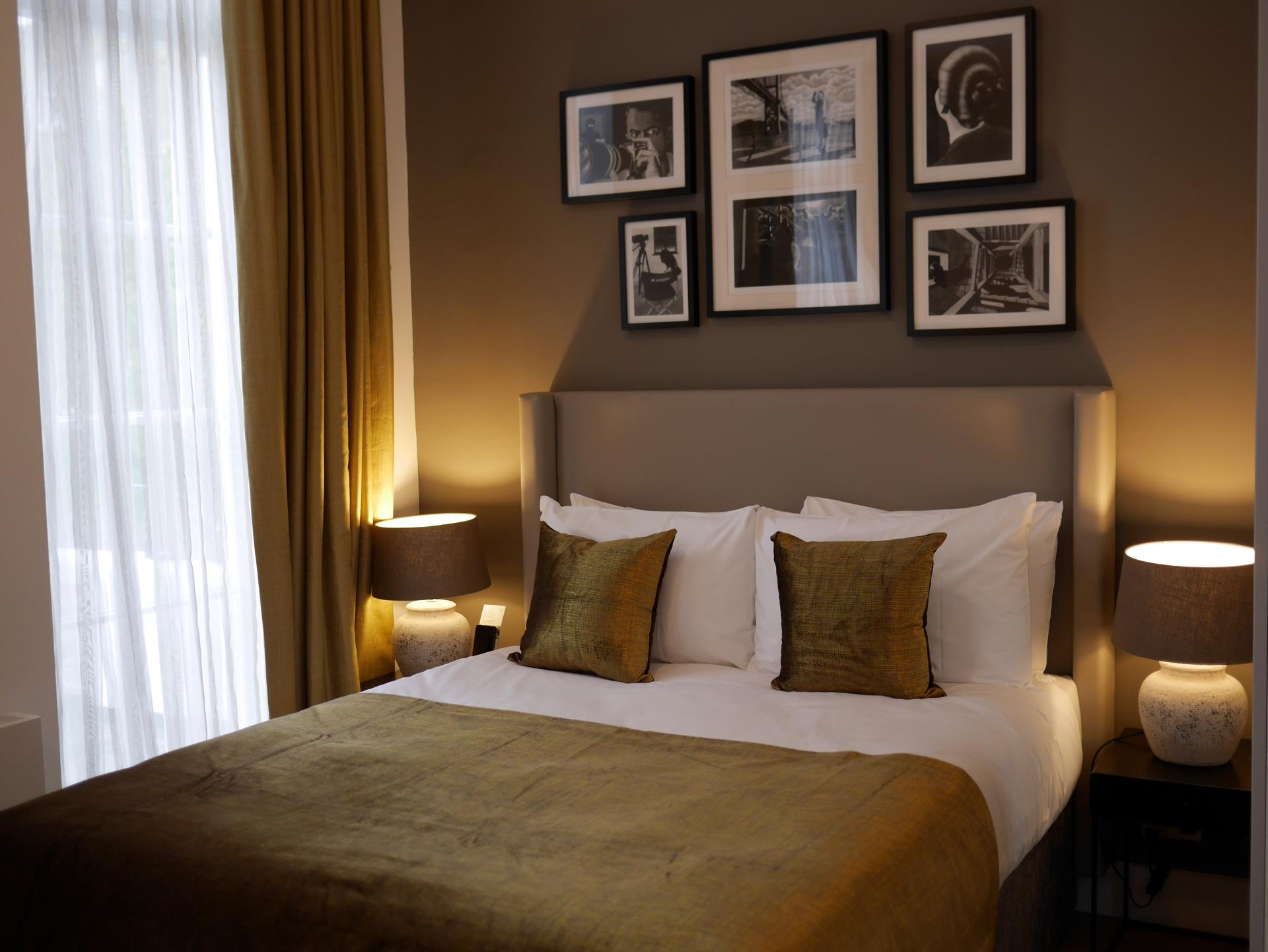 Bed at Nevern Place Aparthotel, Earls Court, London - Citybase Apartments