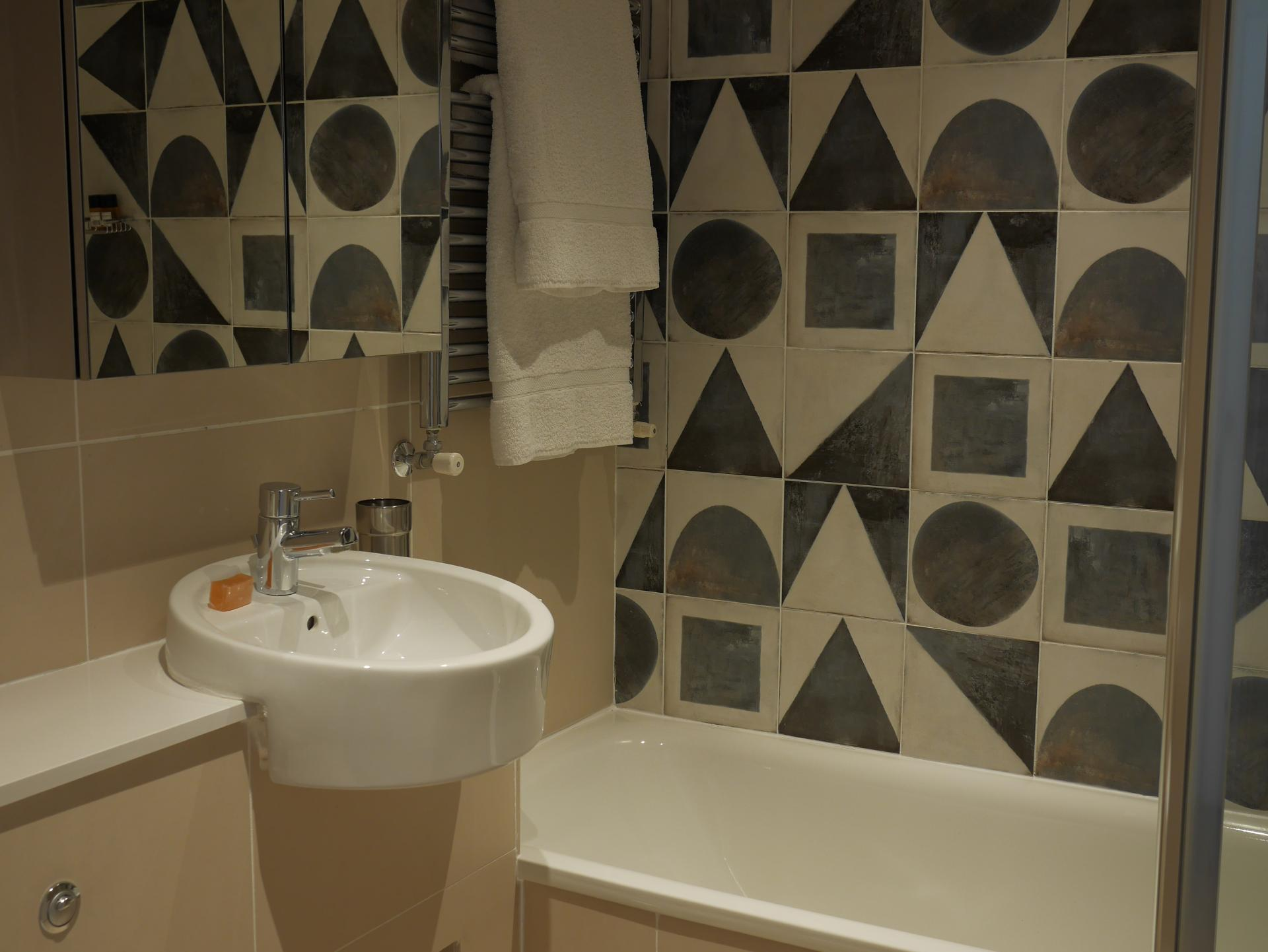 Sink at Nevern Place Aparthotel, Earls Court, London - Citybase Apartments