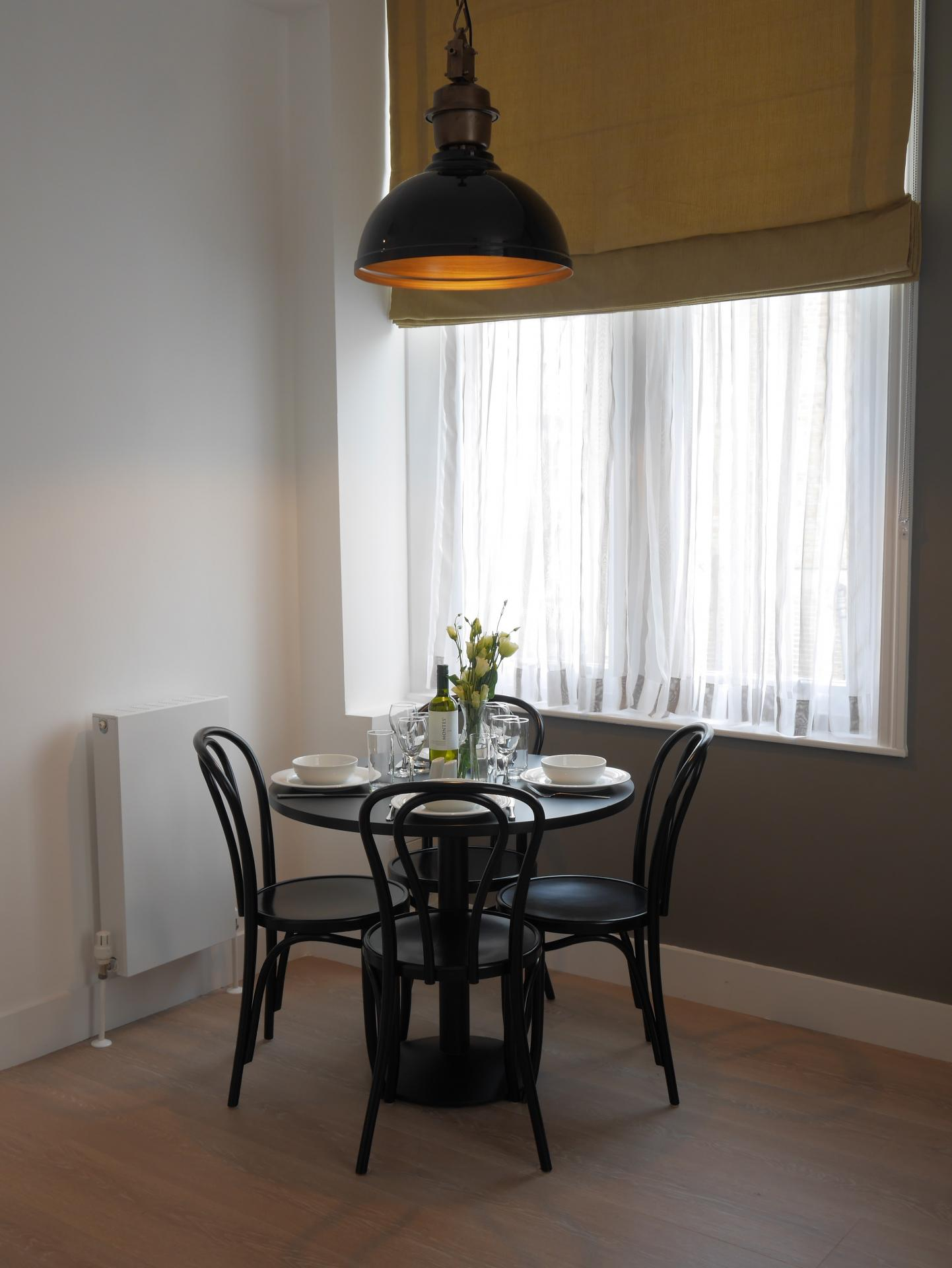 Window at Nevern Place Aparthotel, Earls Court, London - Citybase Apartments