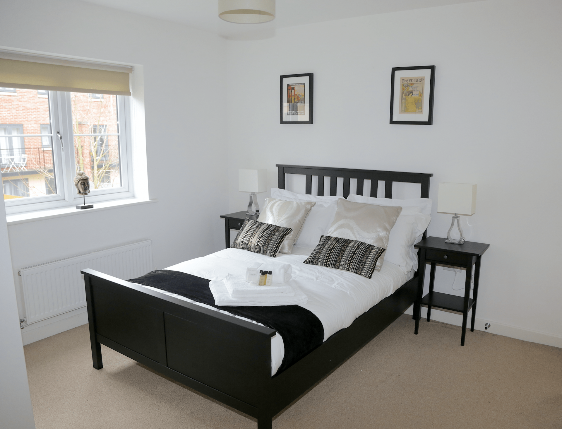 Bedroom at Gateway Apartment Nottingham, Wilford, Nottingham - Citybase Apartments