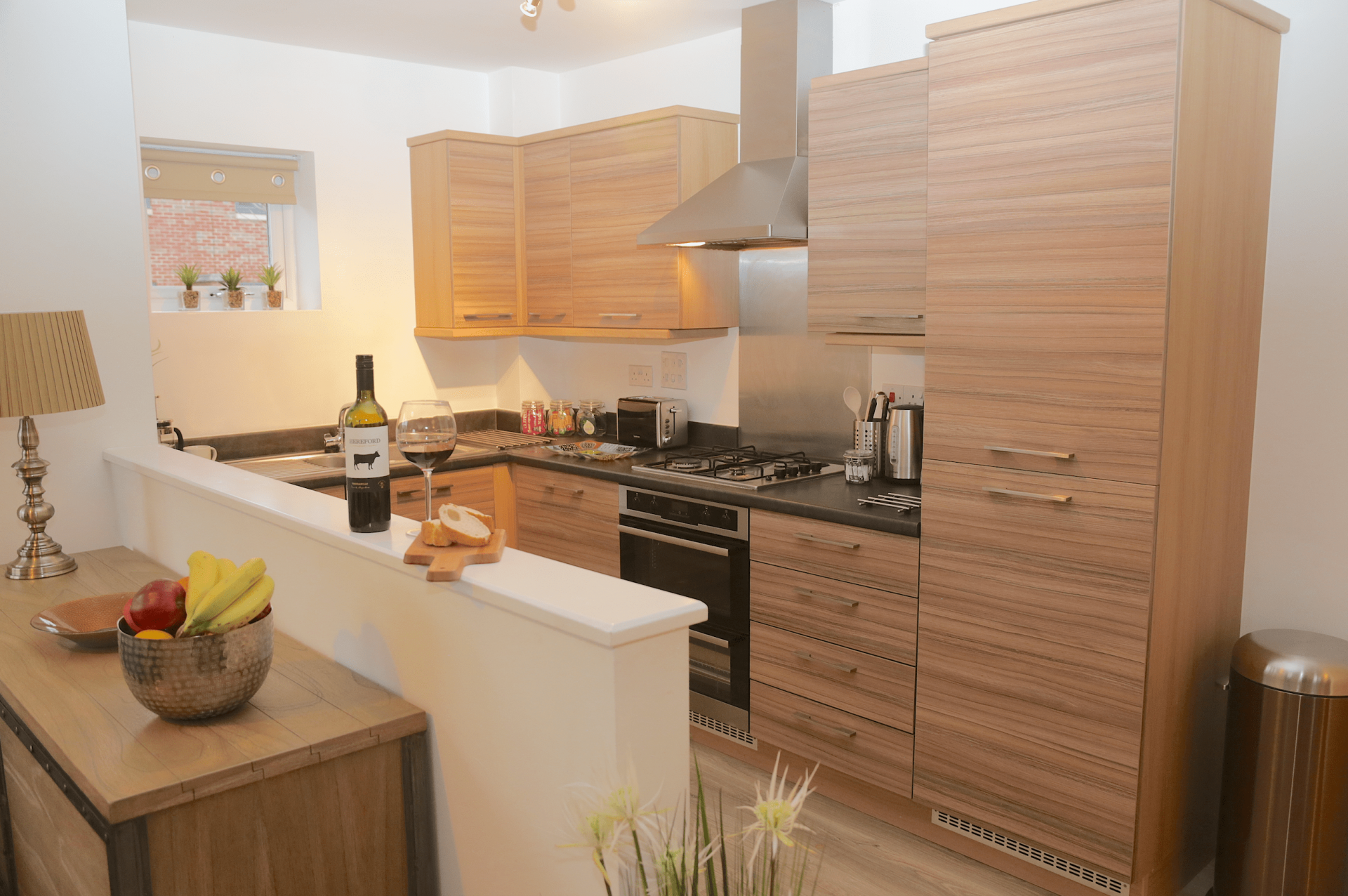 Kitchen at Gateway Apartment Nottingham, Wilford, Nottingham - Citybase Apartments
